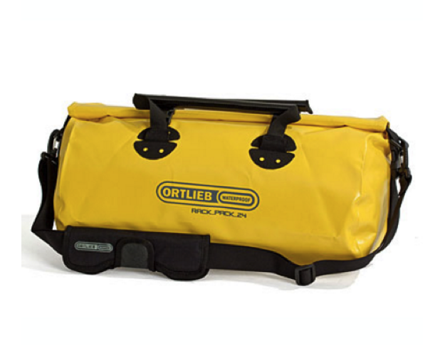 Ortlieb rack pack travel bag expedition equipment for Travel expedition gear